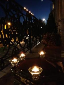 Bougies en Hommage aux victimes du 13 novembre 2015